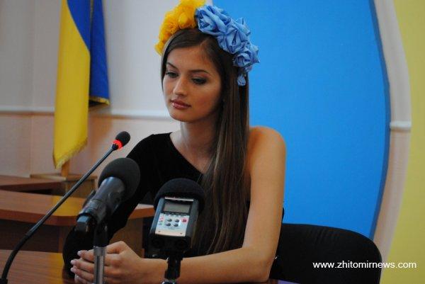 В житомирі гостює міс україна 2013 анна